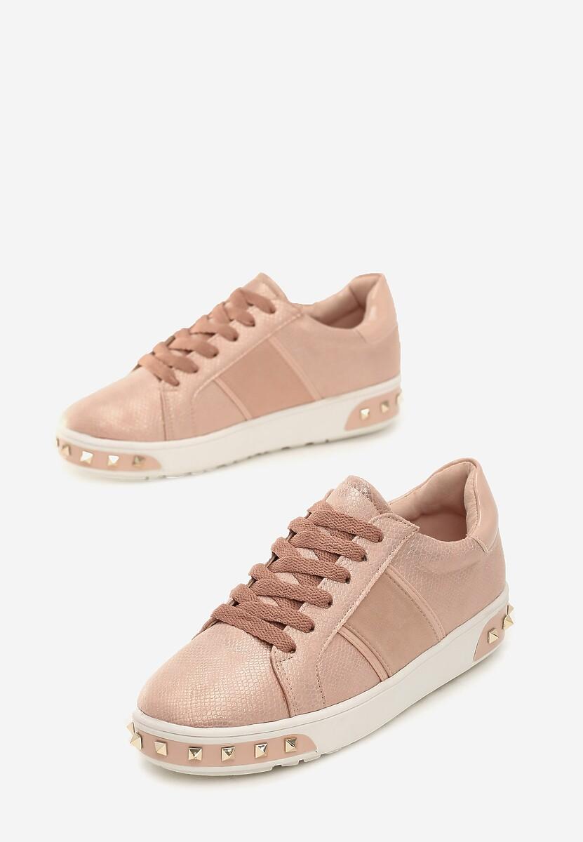 Różowe Sneakersy Amor De Mi Vida