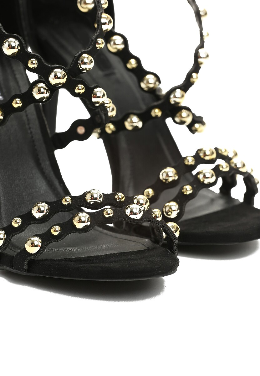 Czarne Sandały Always Be Beautiful