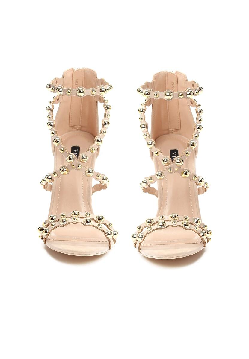 Beżowe Sandały Always Be Beautiful