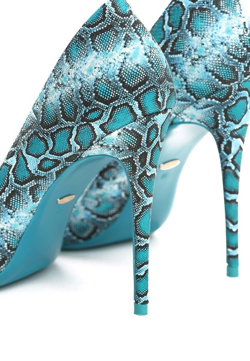 Niebieskie Szpilki Animals