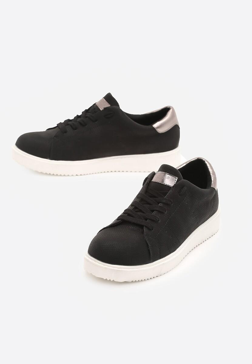 Czarne Sneakersy Get In