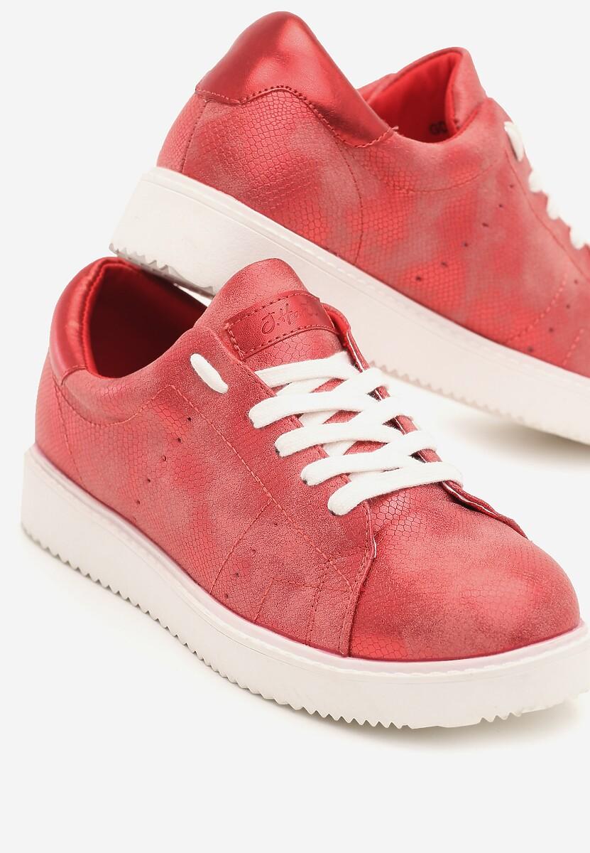 Czerwone Sneakersy Get In