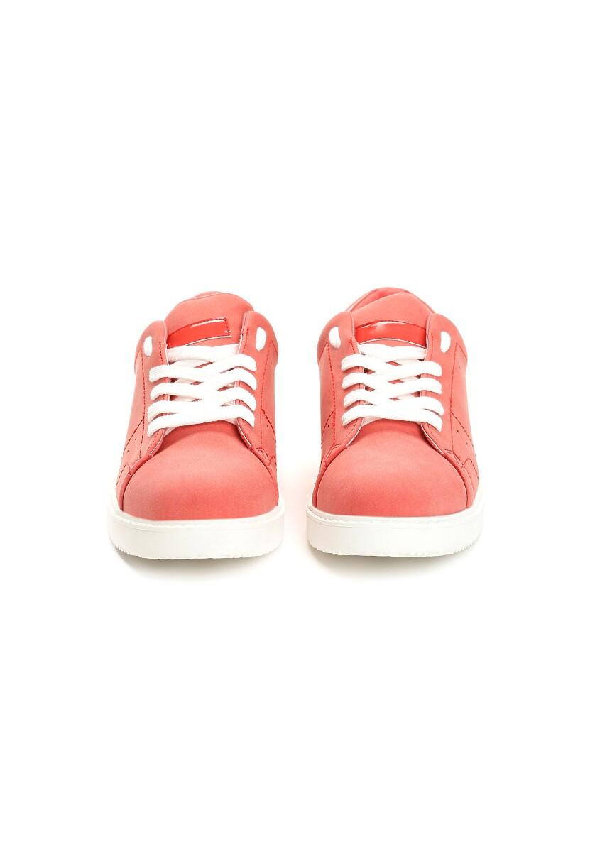 Czerwone Buty Sportowe Elastic Hands