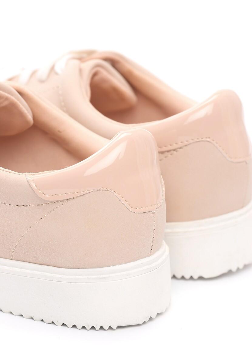 Różowe Buty Sportowe Elastic Hands