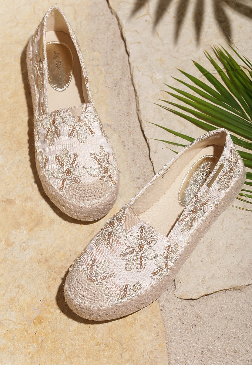 Beżowe Espadryle Better Without
