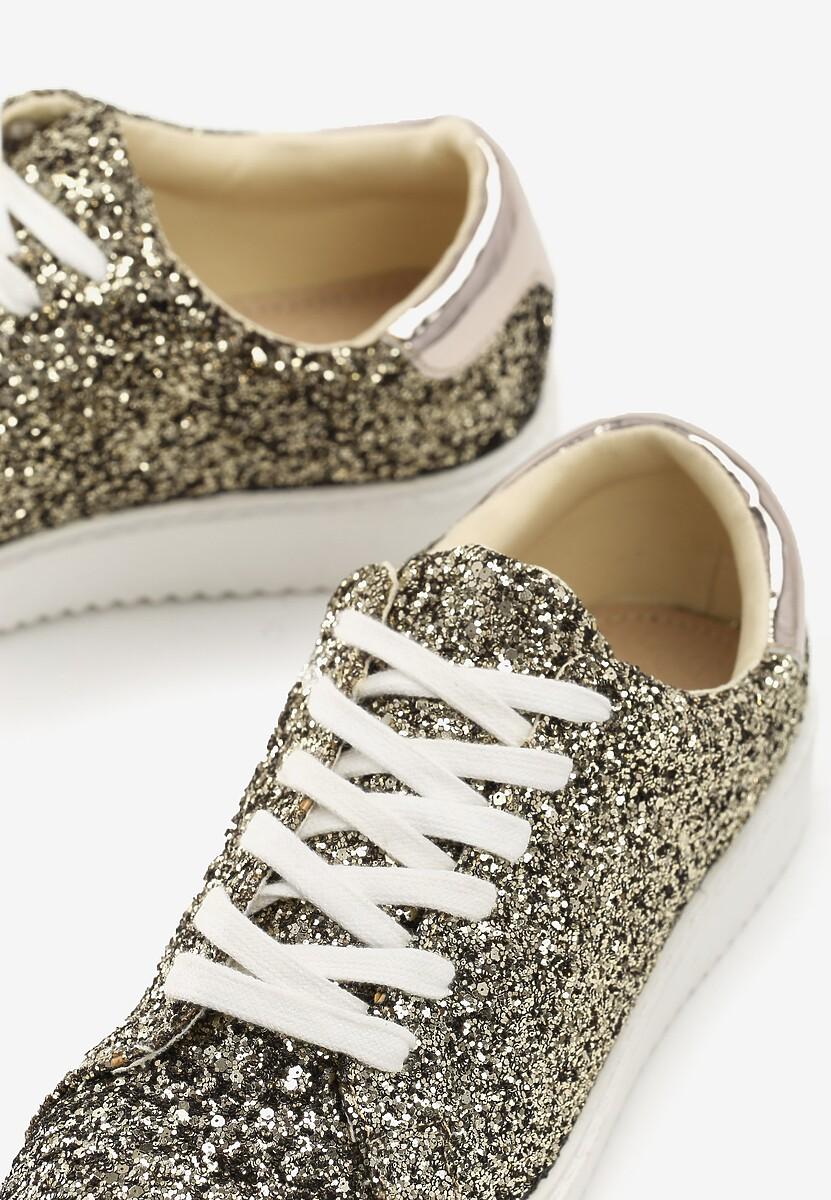 Złote Sneakersy Edge Of Eternity