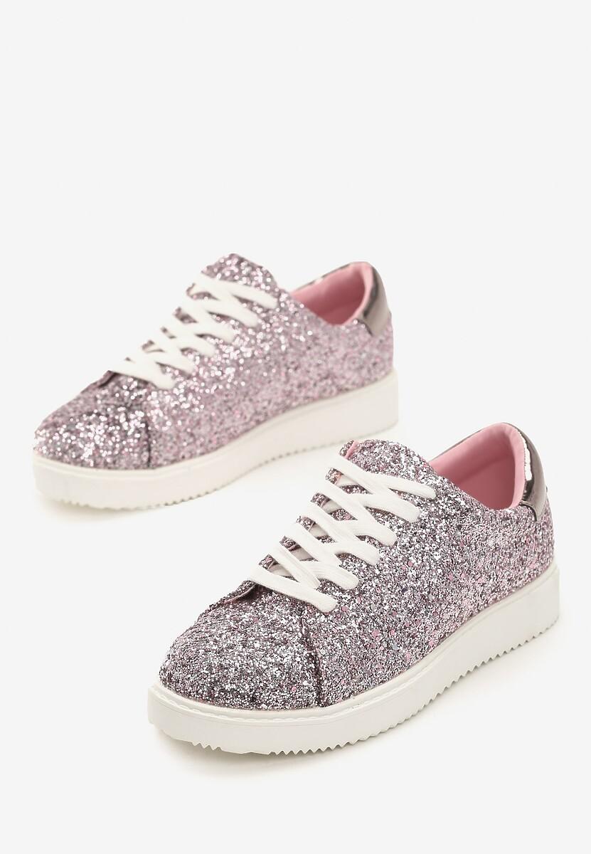Różowe Sneakersy Edge Of Eternity