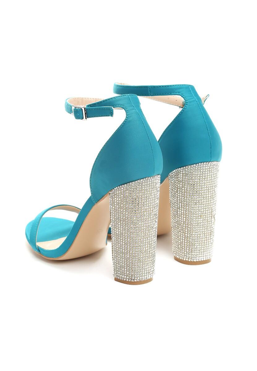 Niebieskie Sandały Feel The Rhythm