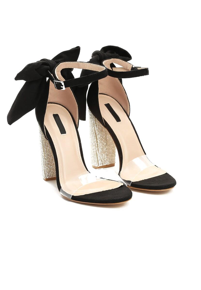 Czarne Sandały Of Gold