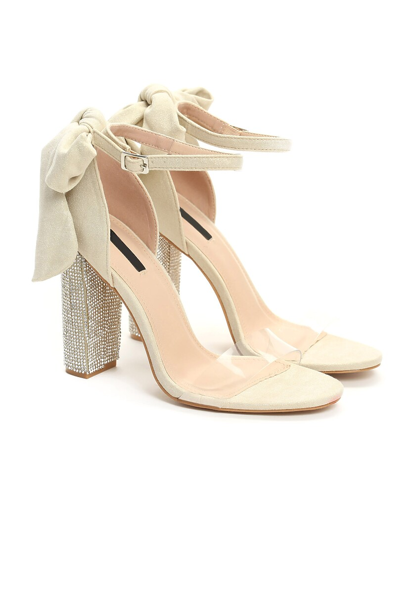 Beżowe Sandały Of Gold