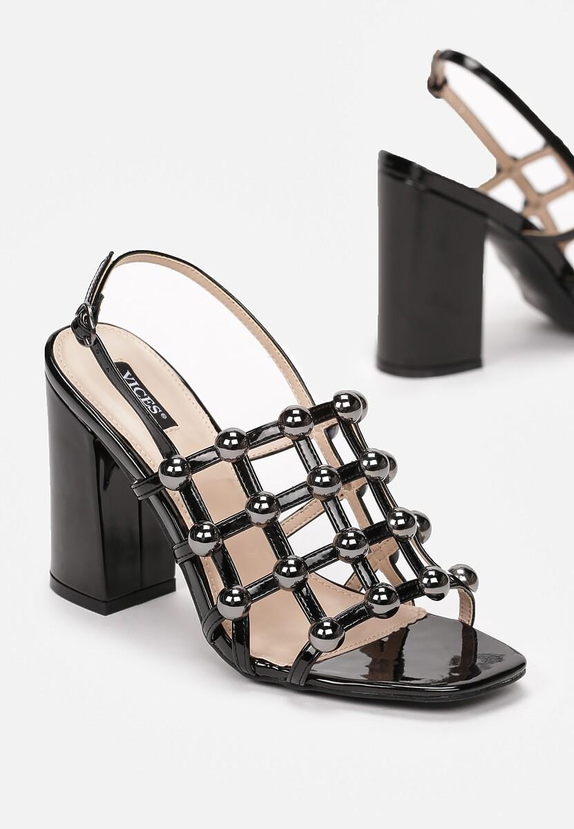 Czarne Sandały One Day