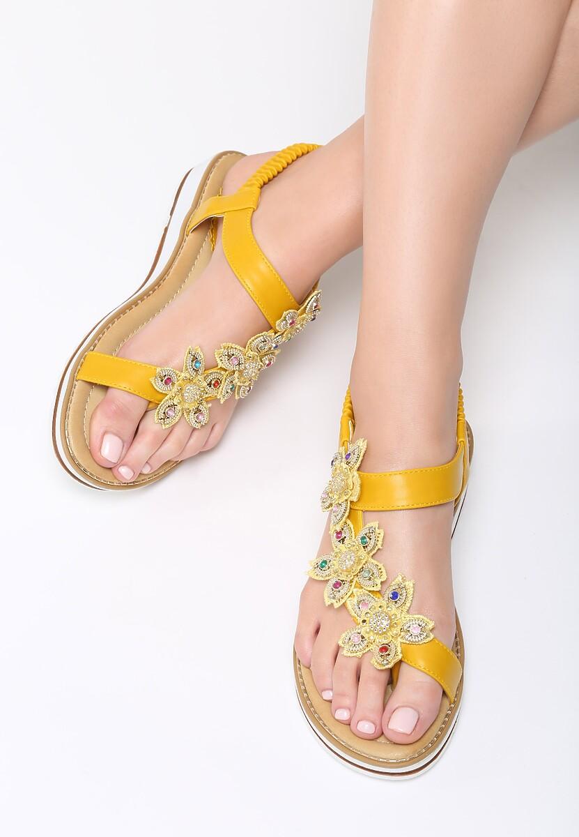 Żółte Sandały Saffron