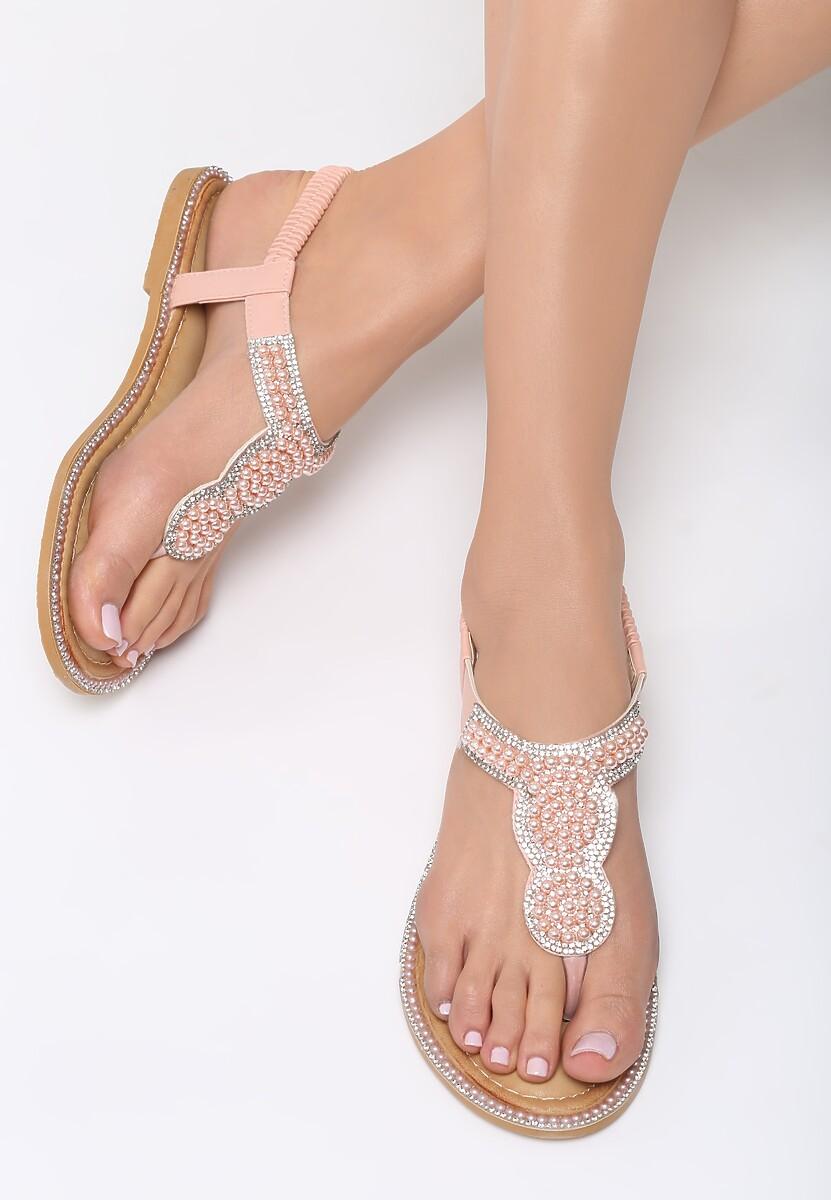 Różowe Sandały To The Claskys