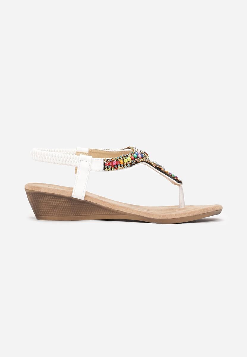 Białe Sandały  Make It Happen