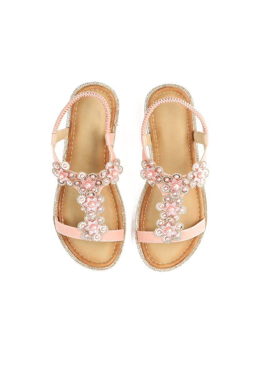 Różowe Sandały Anticipation
