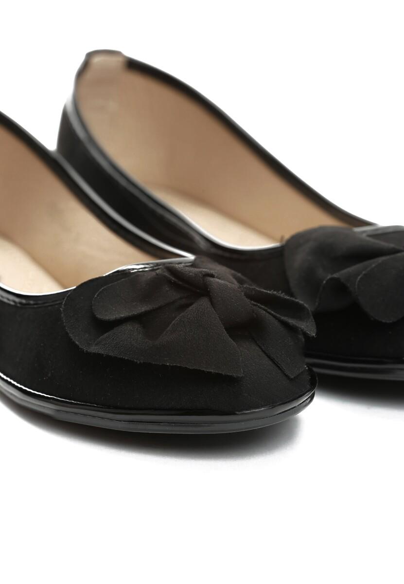 Czarne Balerinki Walk This Way