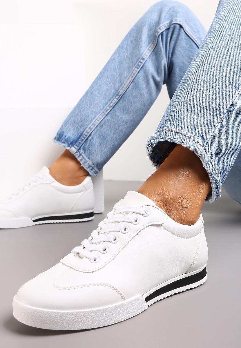 Białe Buty Sportowe Turning Away