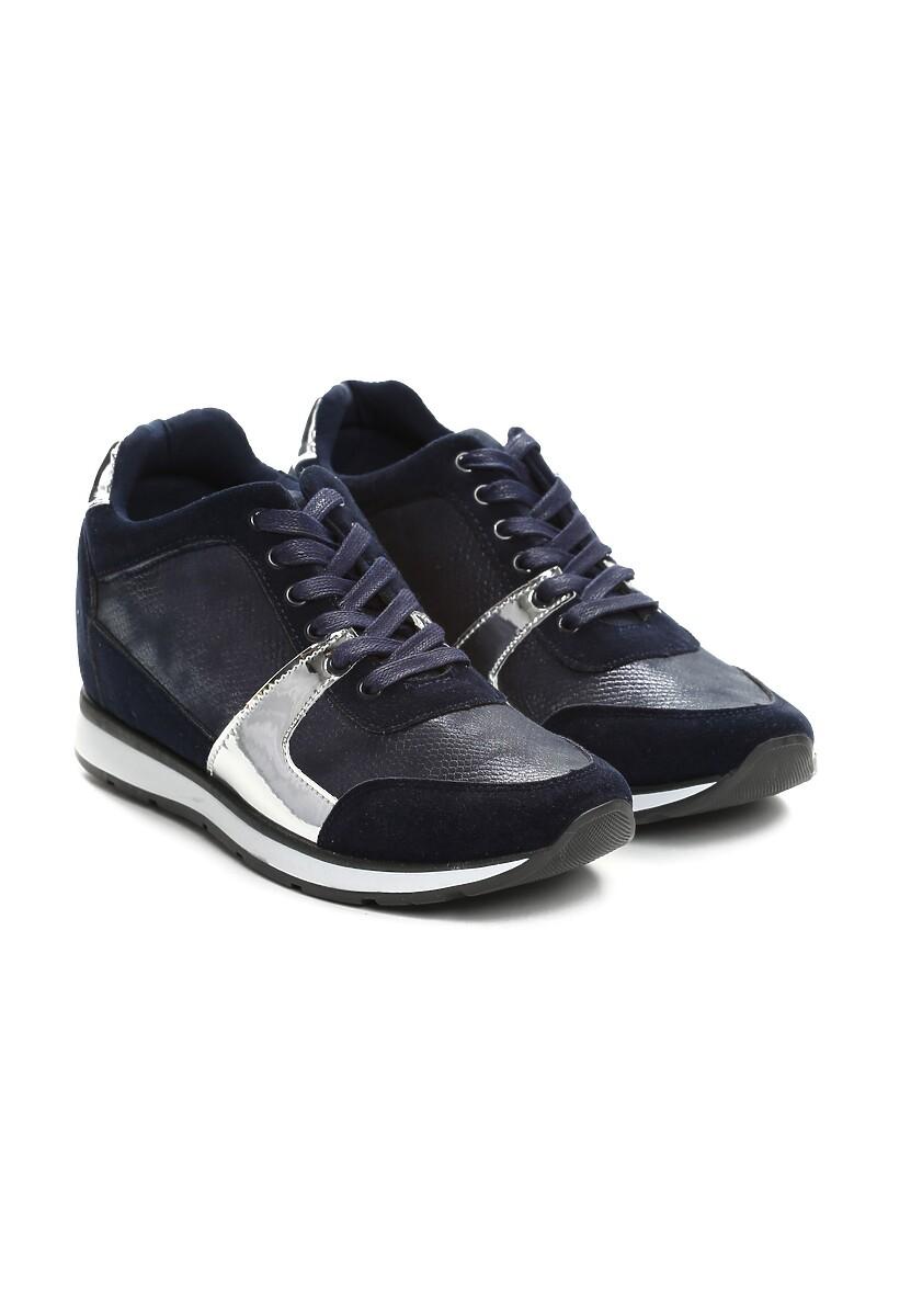 Niebieskie Sneakersy Really Want