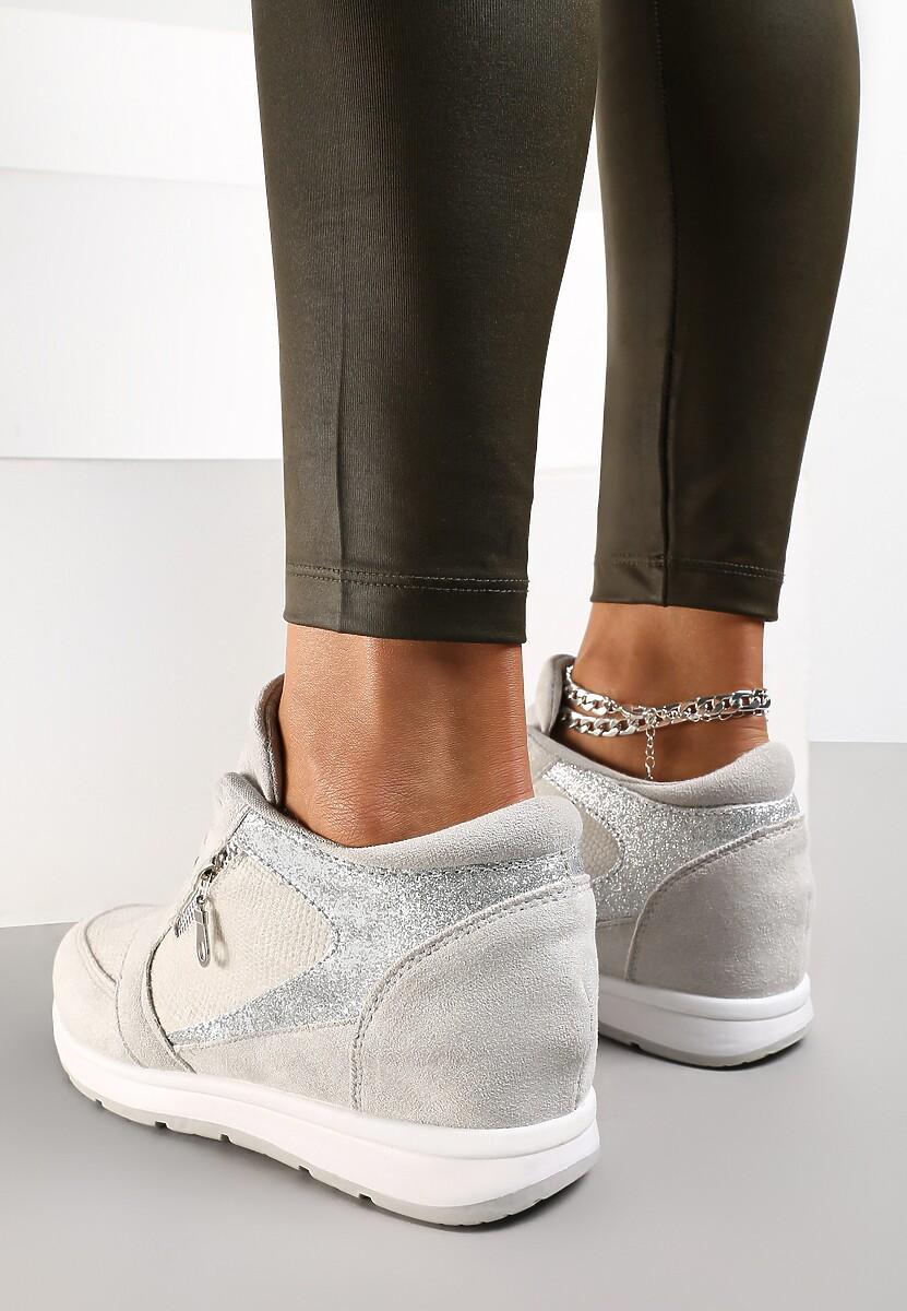 Szare Sneakersy I Surrender