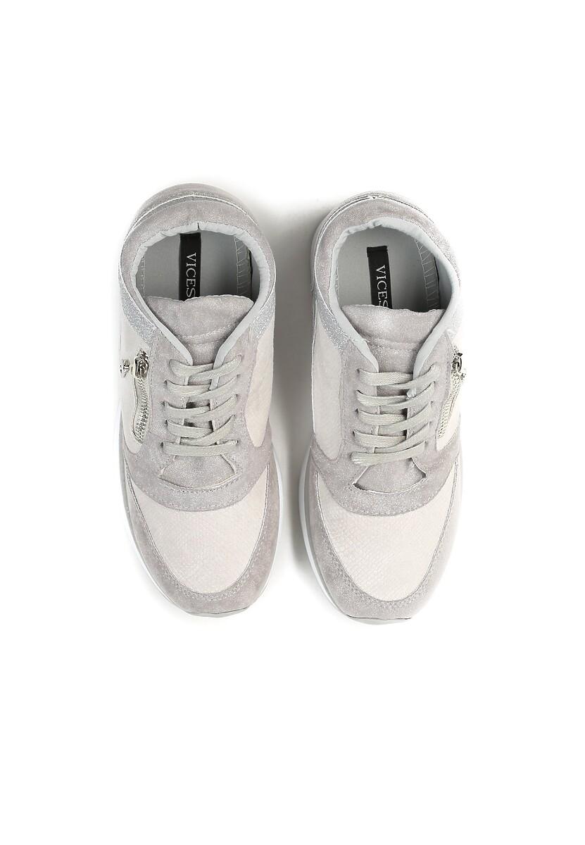 d8dd96158747 Szare Sneakersy I Surrender w Renee.pl