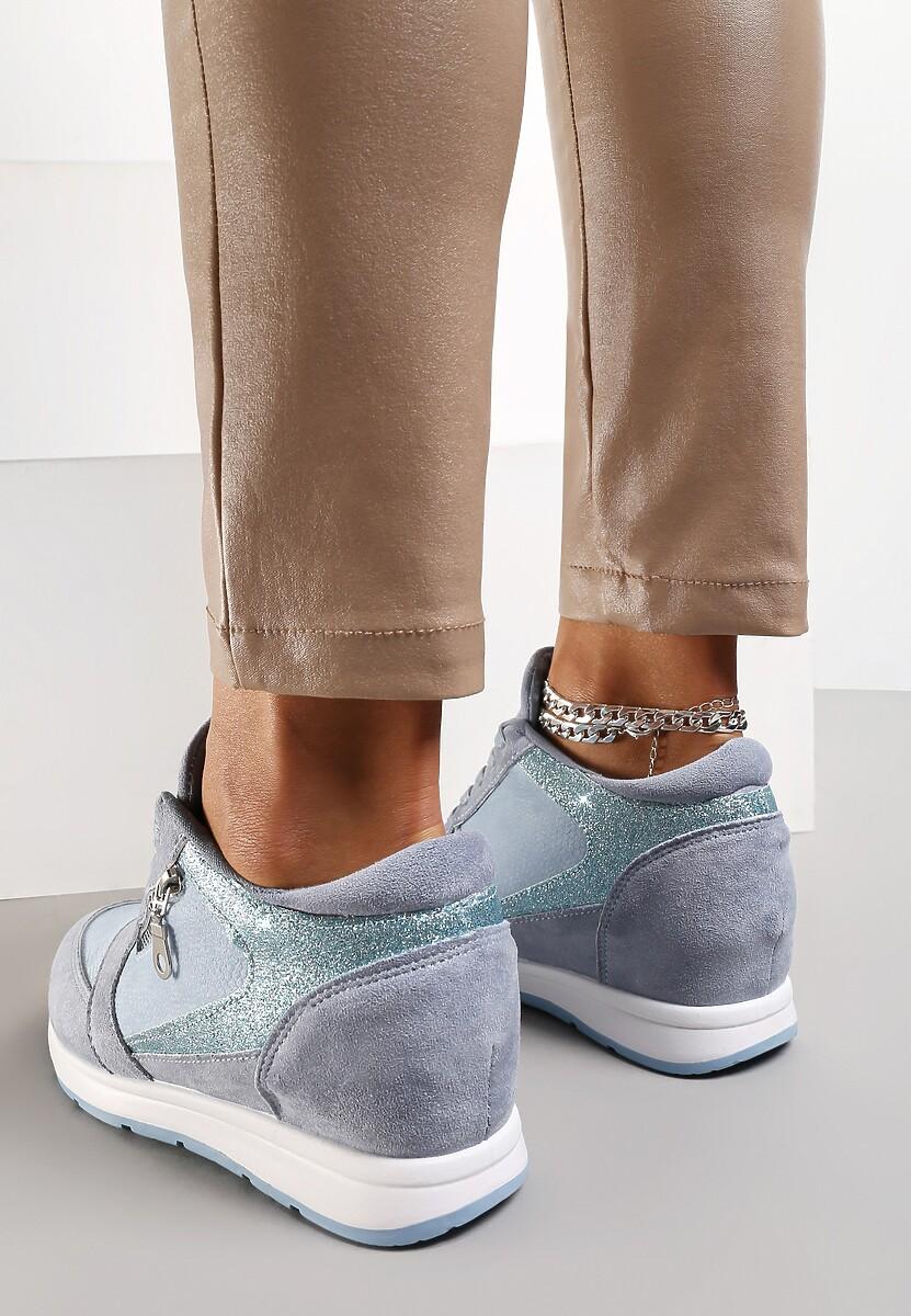 af016096bc42 Niebieskie Sneakersy I Surrender w Renee.pl
