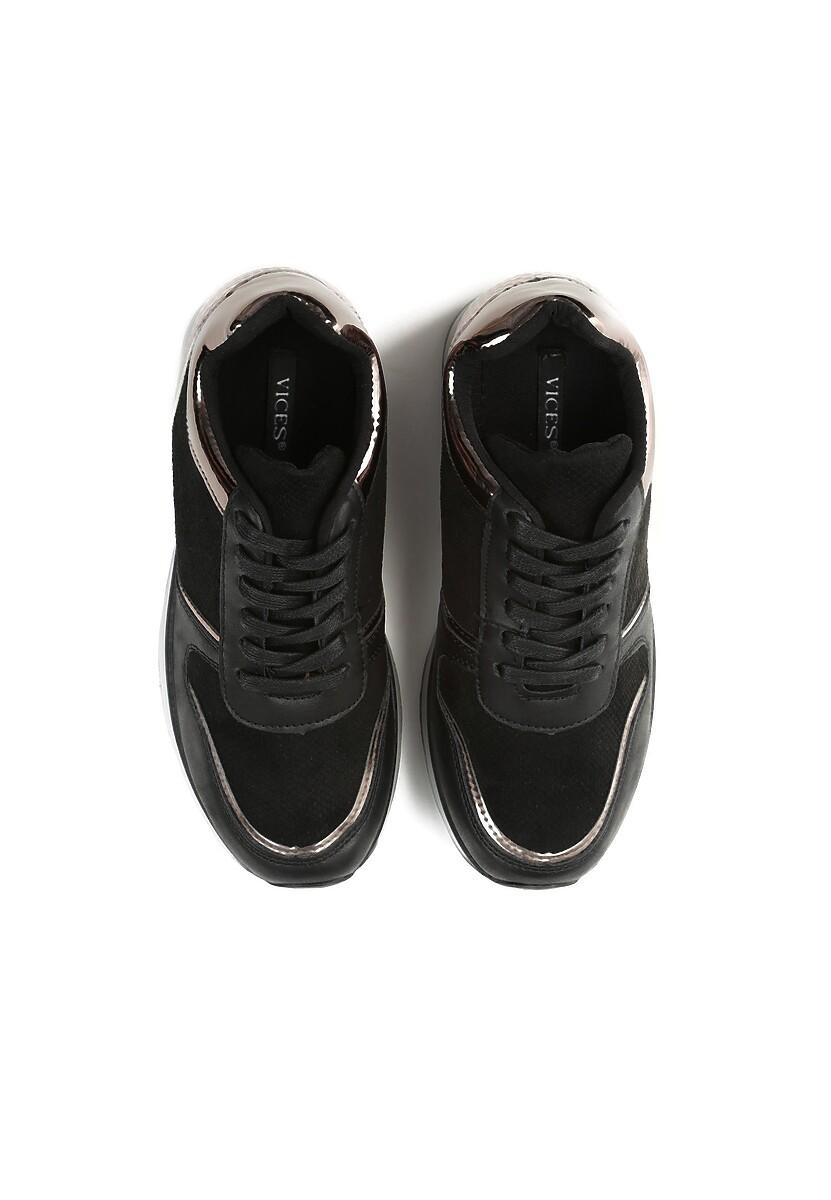 Czarne Sneakersy Don't Stay