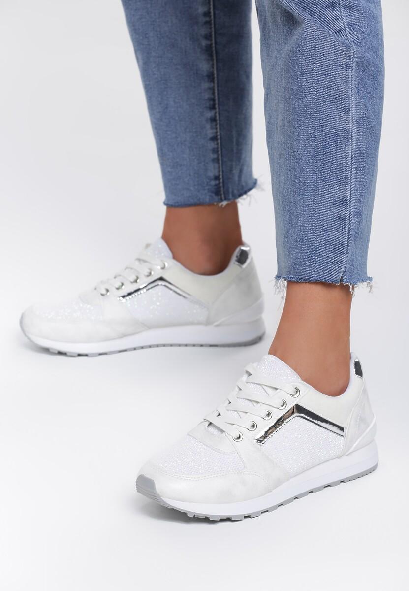 Białe Sneakersy Take A Chance