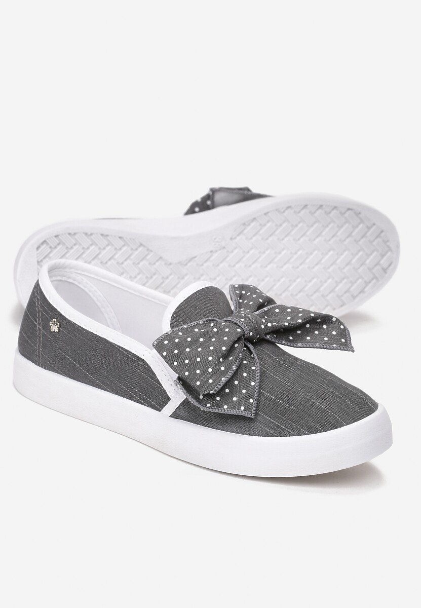 Czarne Slip On Friends