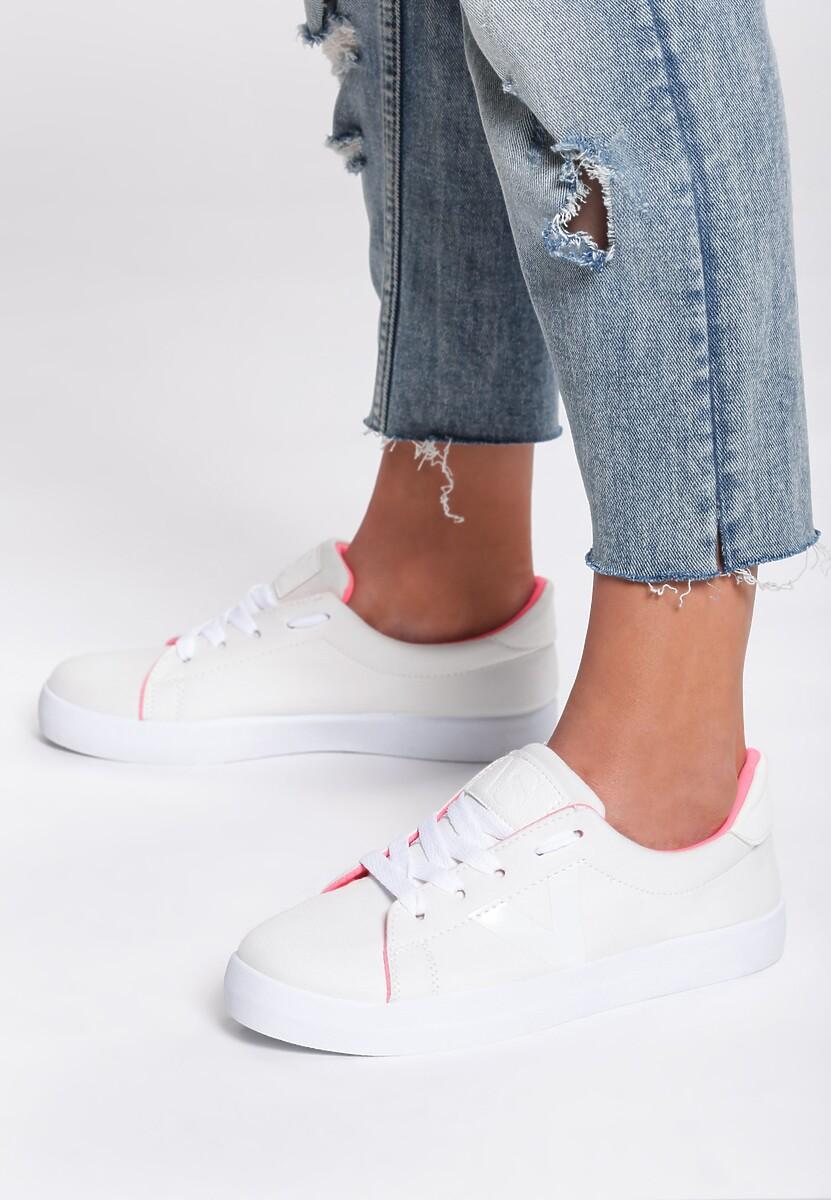 Białe Buty Sportowe Lost My Way