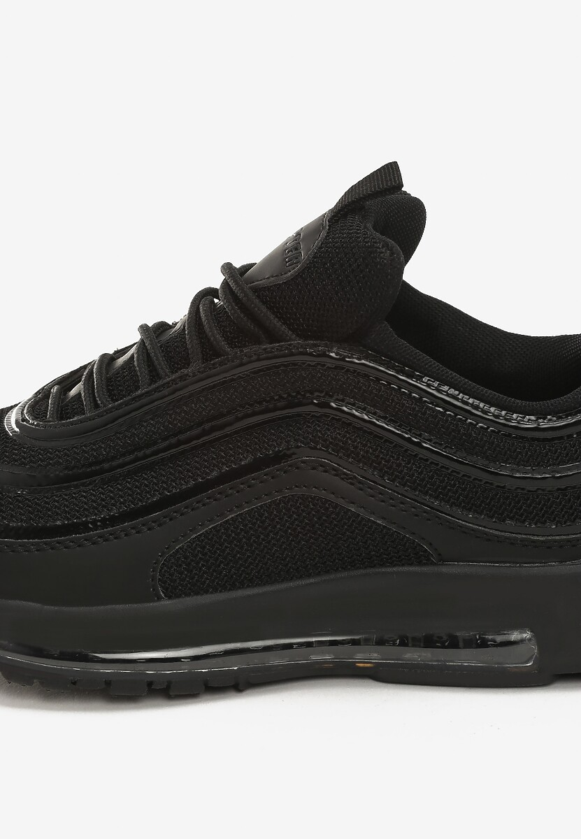 Czarne Sneakersy Here We Go