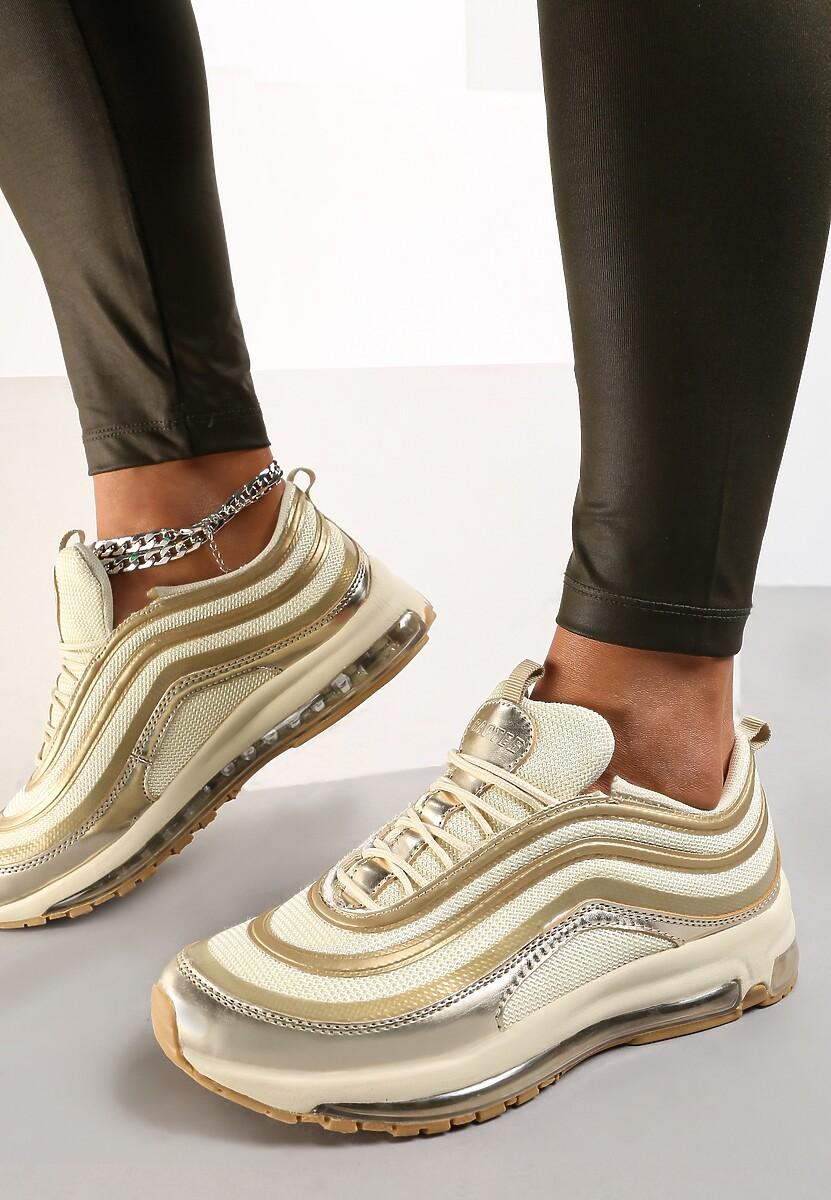 Złote Sneakersy Here We Go Kod produktu: 62854