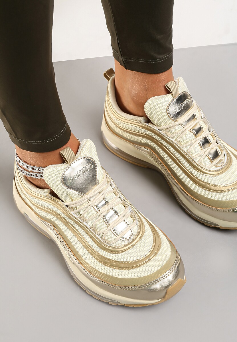 Złote Sneakersy Here We Go