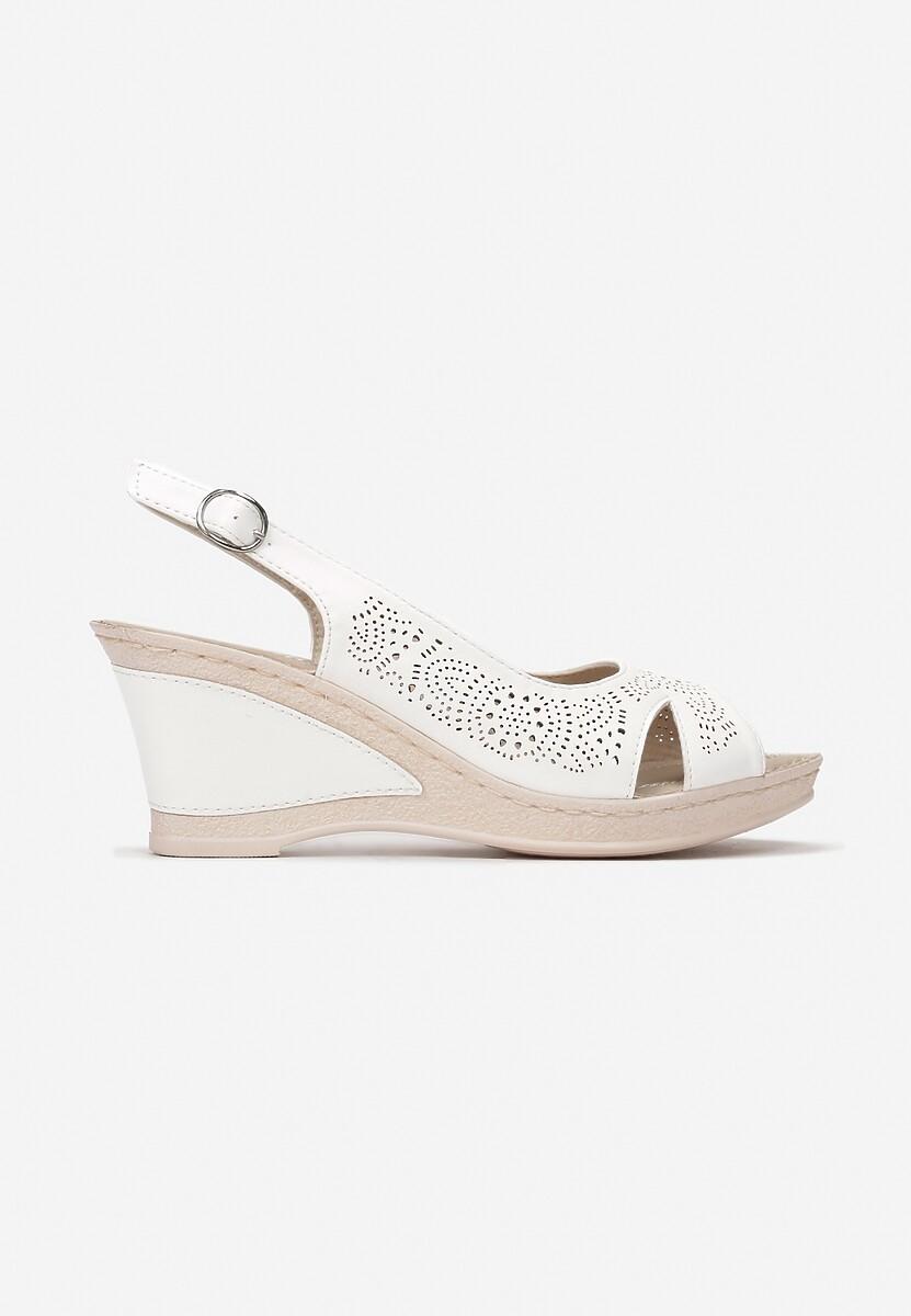 Białe Sandały That High