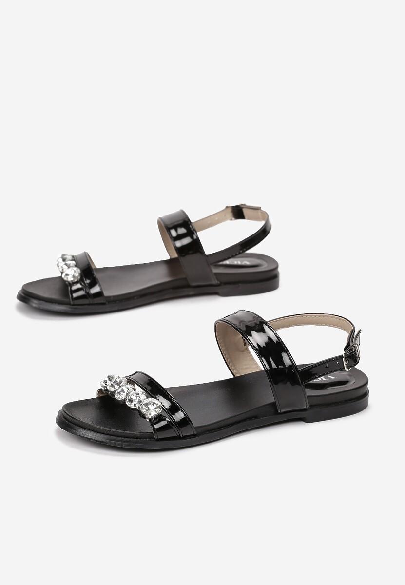 Czarne Sandały Complete Shambles