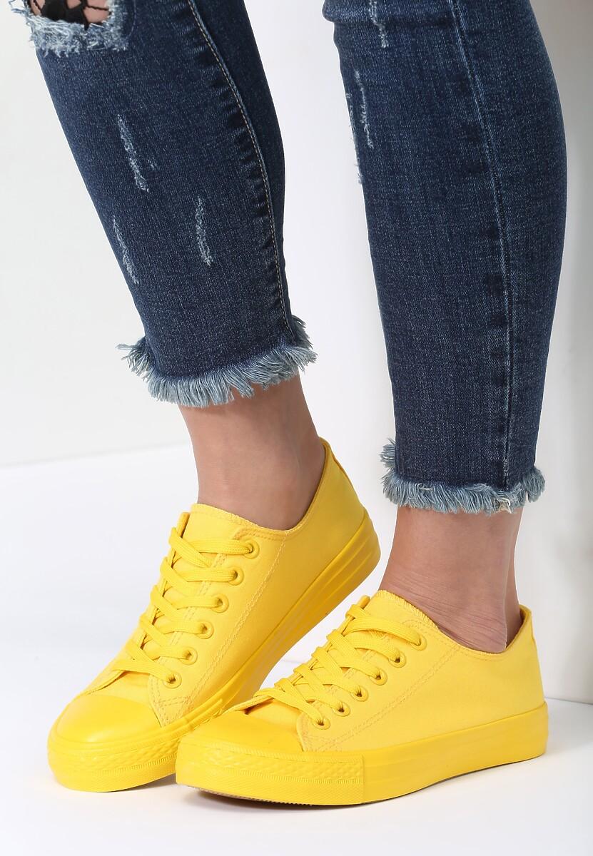 Żółte Trampki Sweet Land