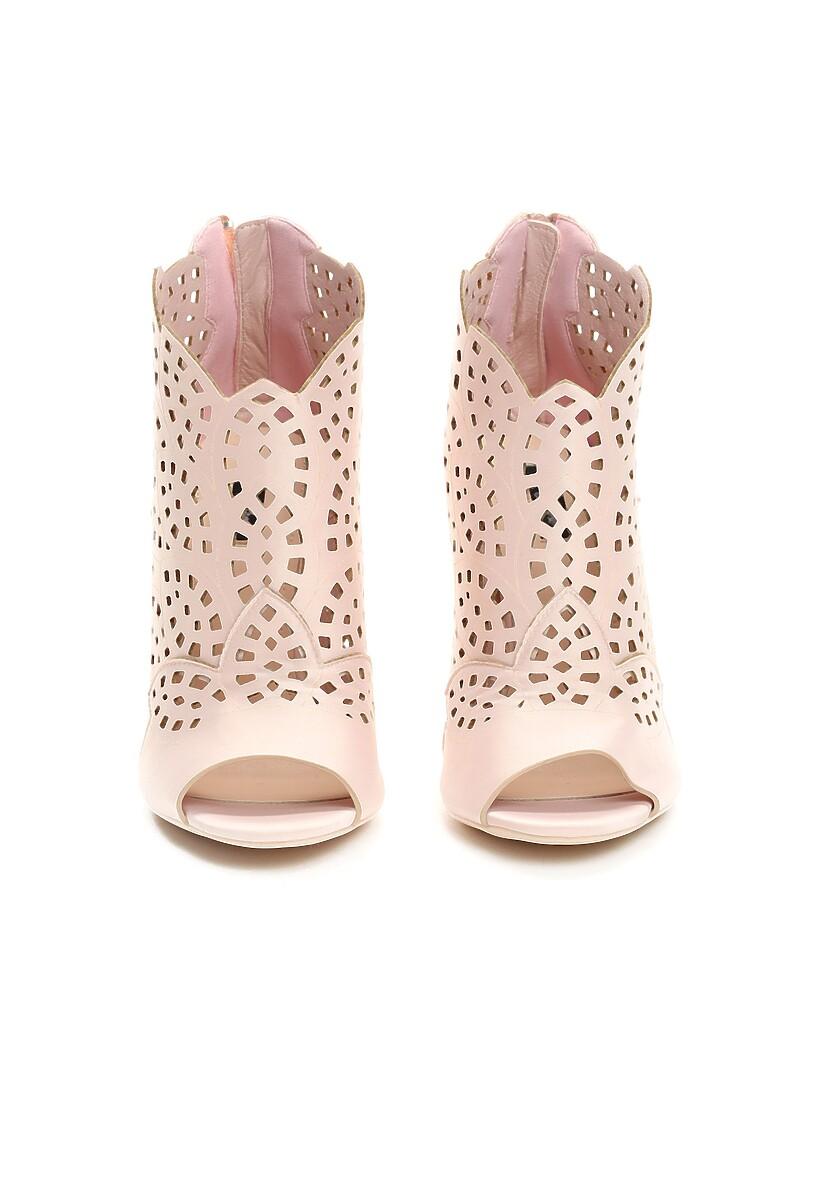 Różowe Sandały You Look