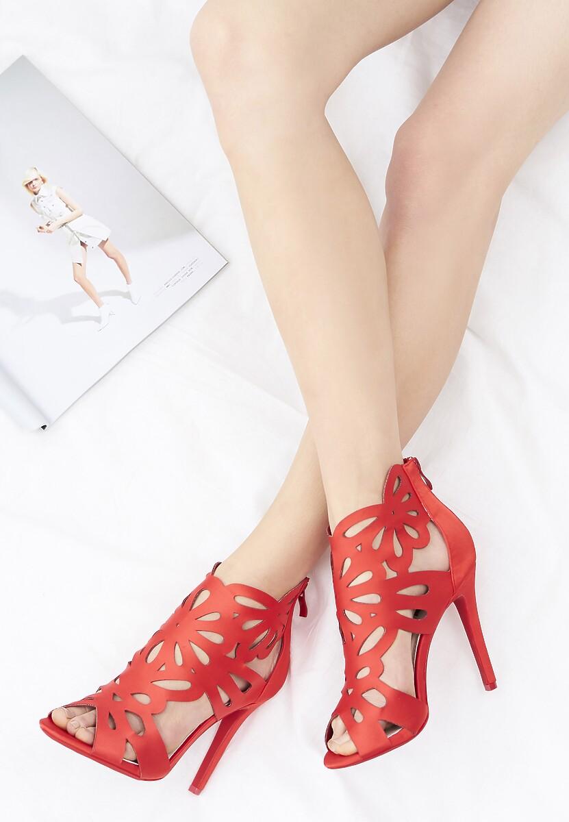 Czerwone Sandały Sweet Sweet