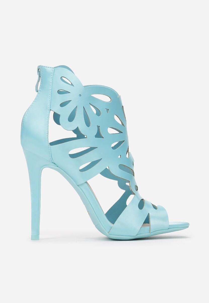 Niebieskie Sandały Sweet Sweet