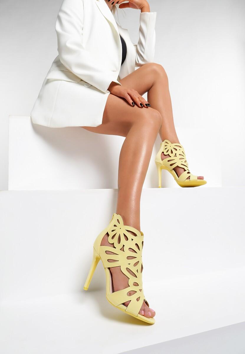 Żółte Sandały Sweet Sweet