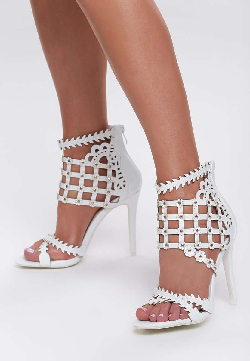 Białe Sandały What I Feel?