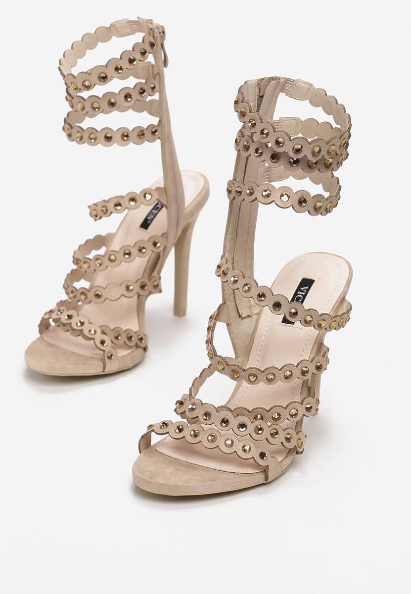 Beżowe Sandały Unpredictable