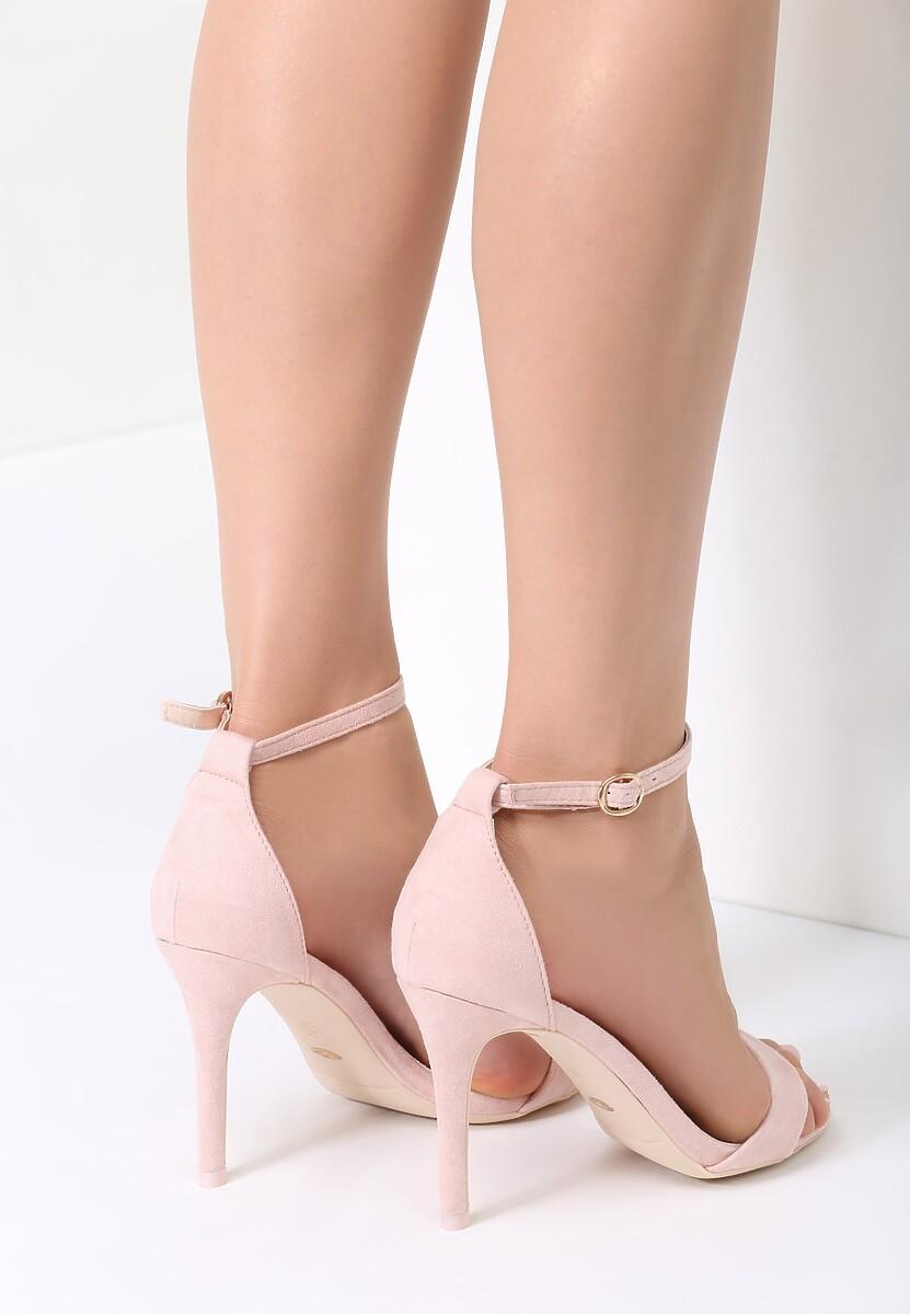 Różowe Sandały Kiss Goodbye