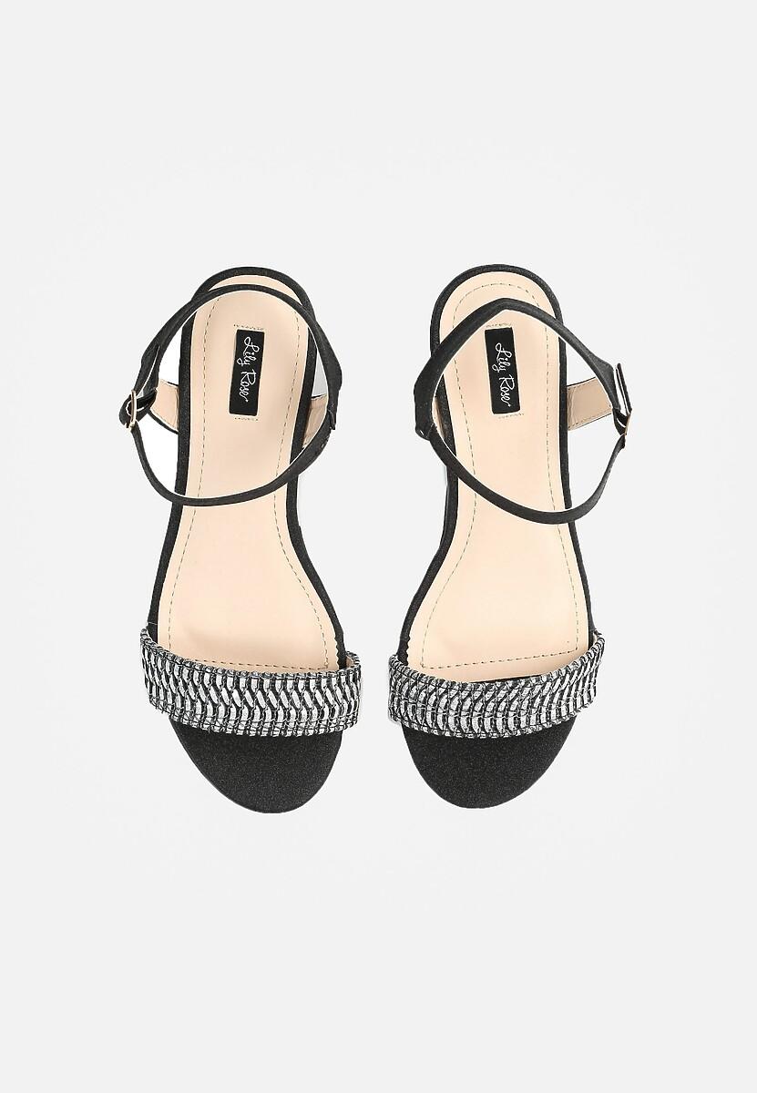 Czarne Sandały Like I Do