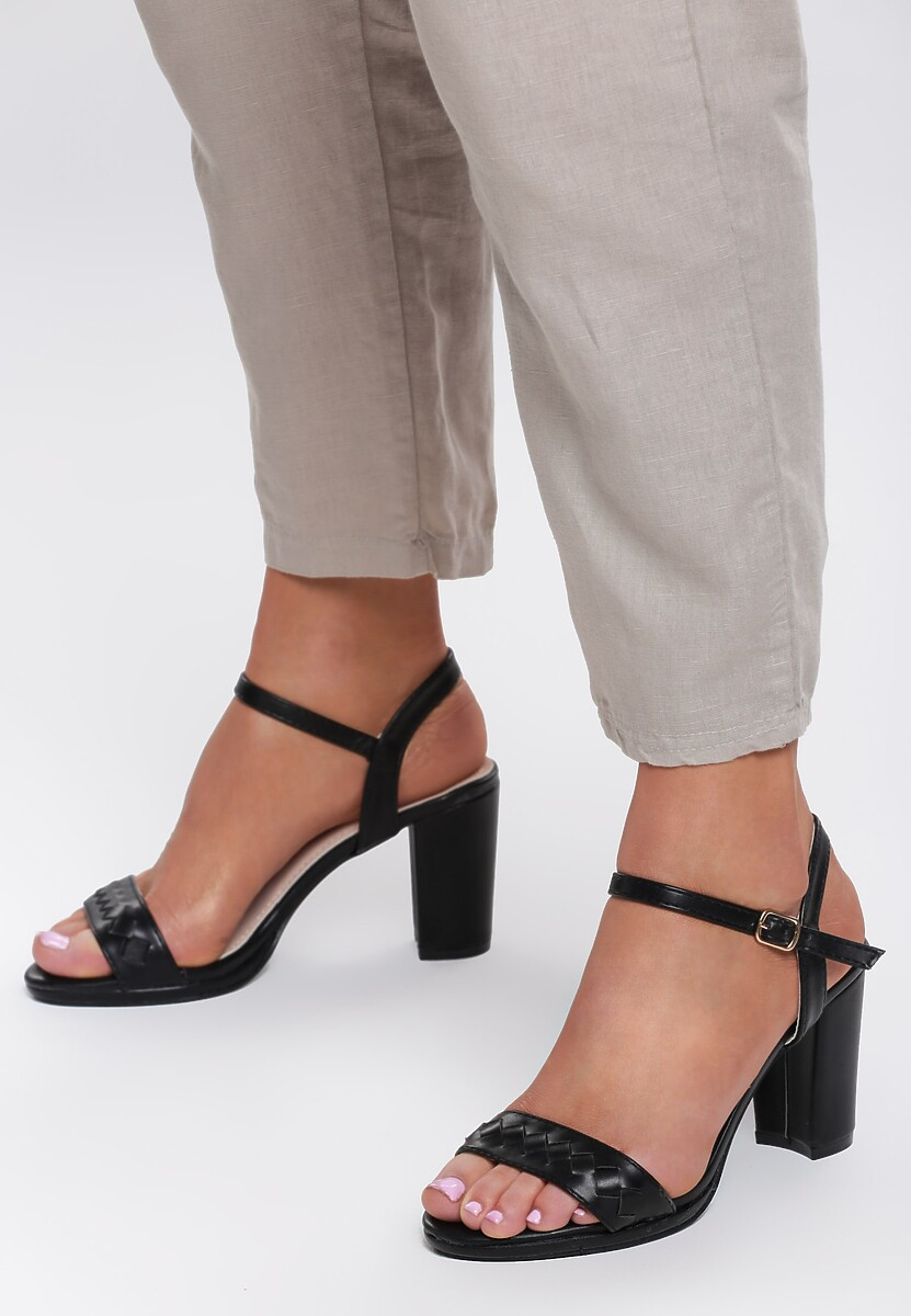 Czarne Sandały You're a Woman