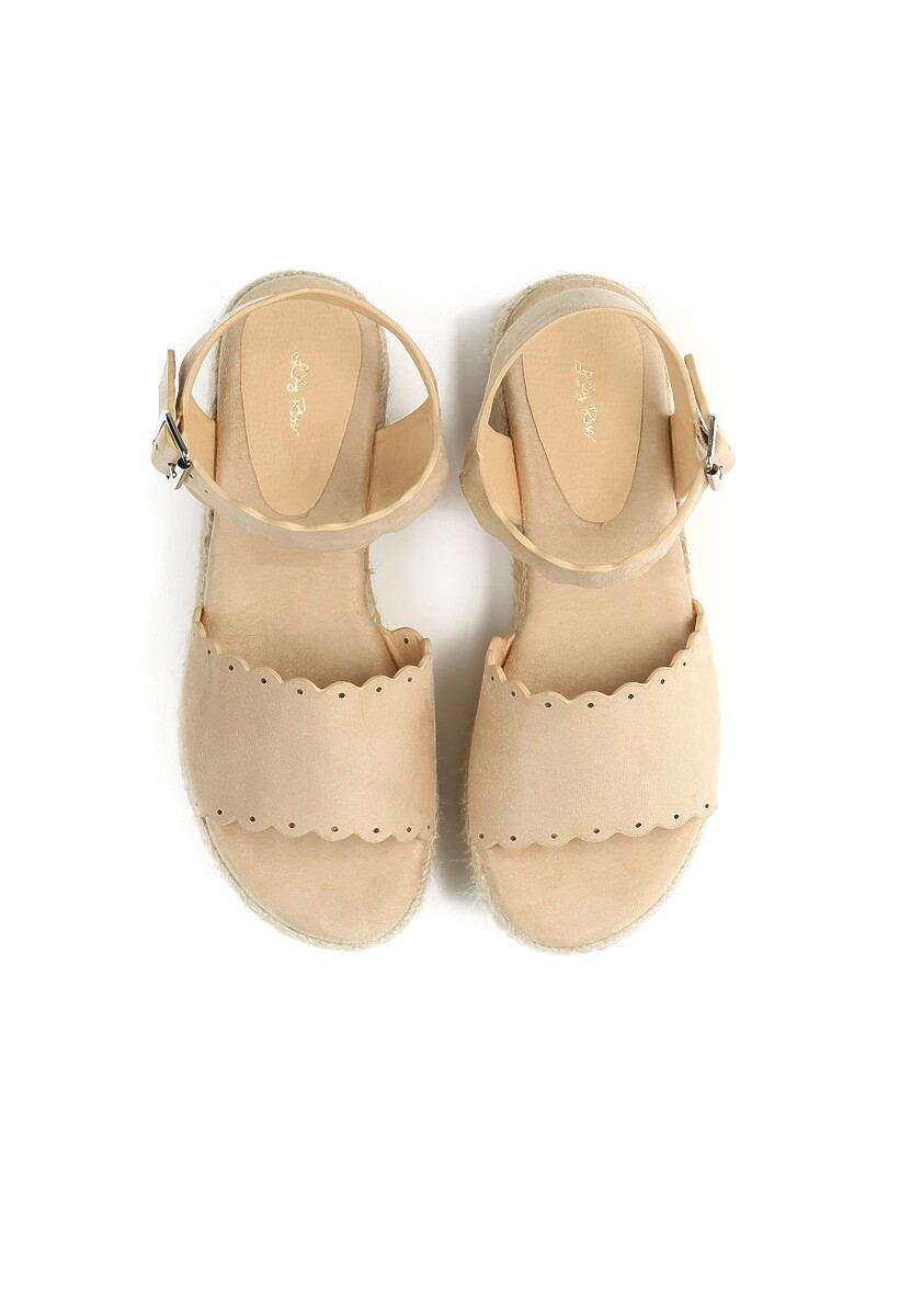 Beżowe Sandały Toxic