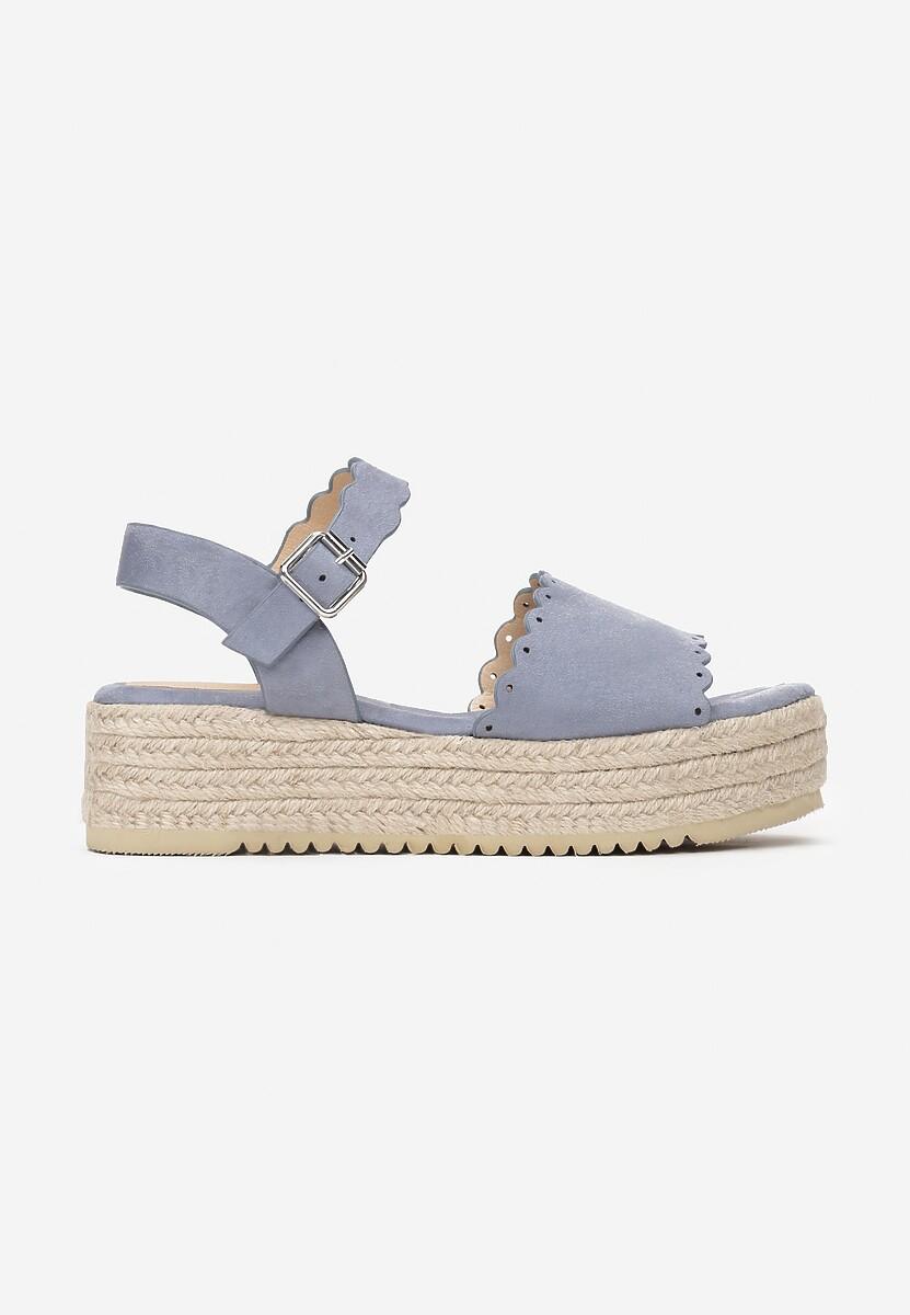 Niebieskie Sandały Toxic