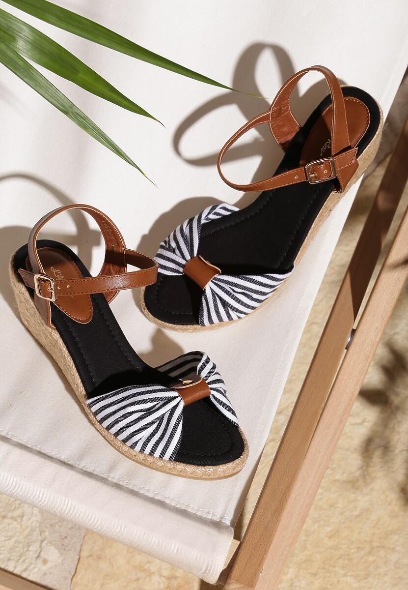 Czarne Sandały Capsize