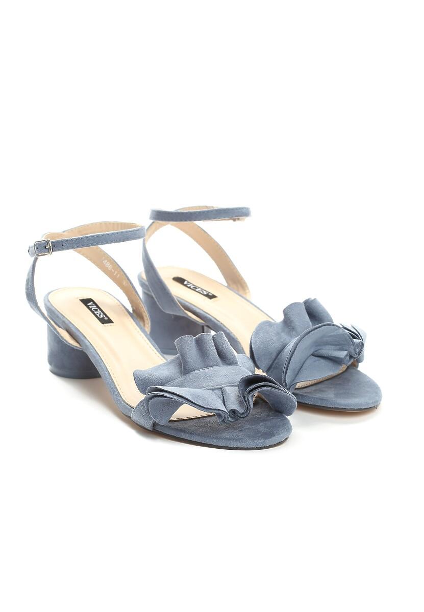 Niebieskie Sandały Tweet