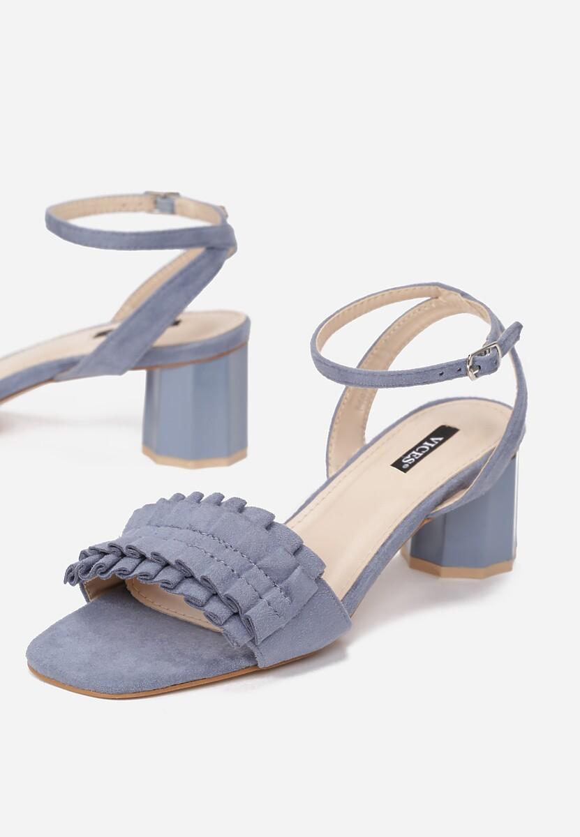 Niebieskie Sandały Want Me Too
