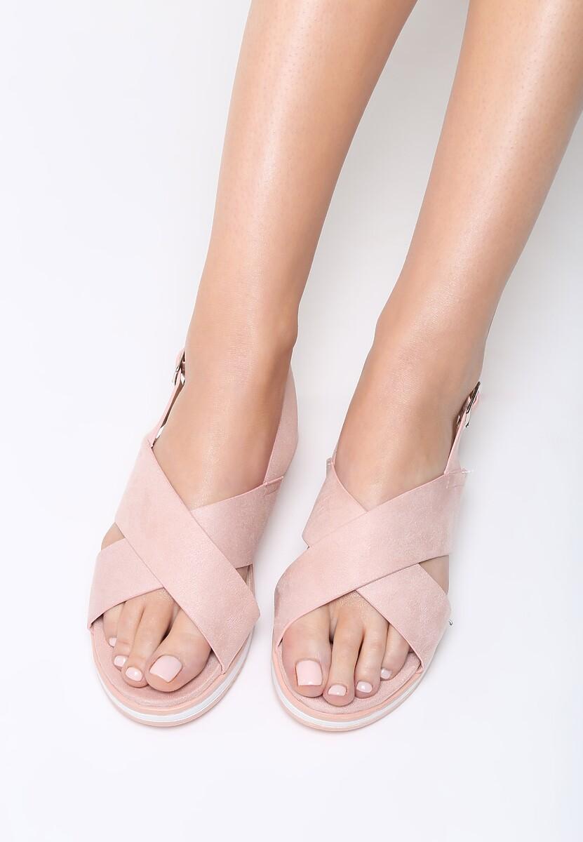 Różowe Sandały Materialistic